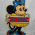 Minnie Mouse Affiche chambre