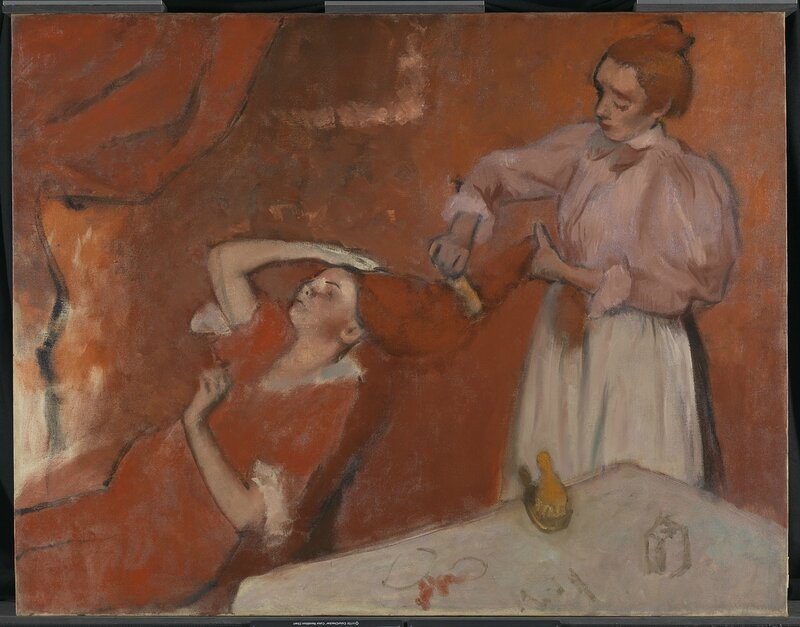 Hilaire Germain Edgar Degas, 'Combing the Hair ('La Coiffure')', about 1896