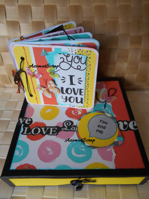 Mini I love you-Album et boite
