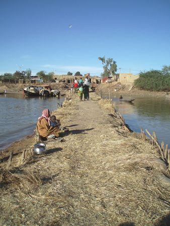 mendiants sur passages MOPTI Mali