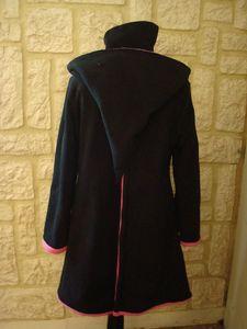 manteau de portage noir et rose (7)