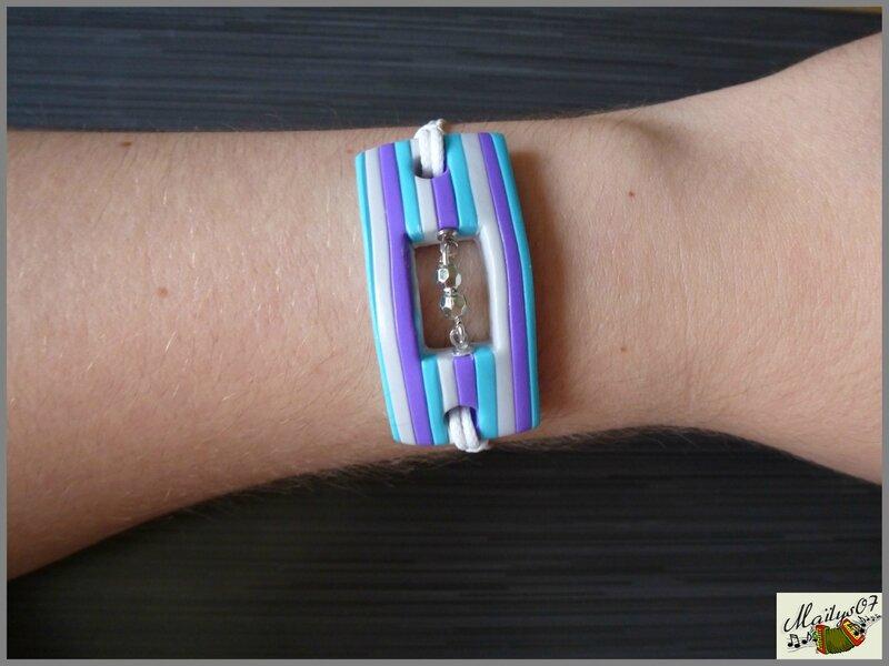 bracelet rayures 1