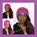 purple red woolly hat 2018 l