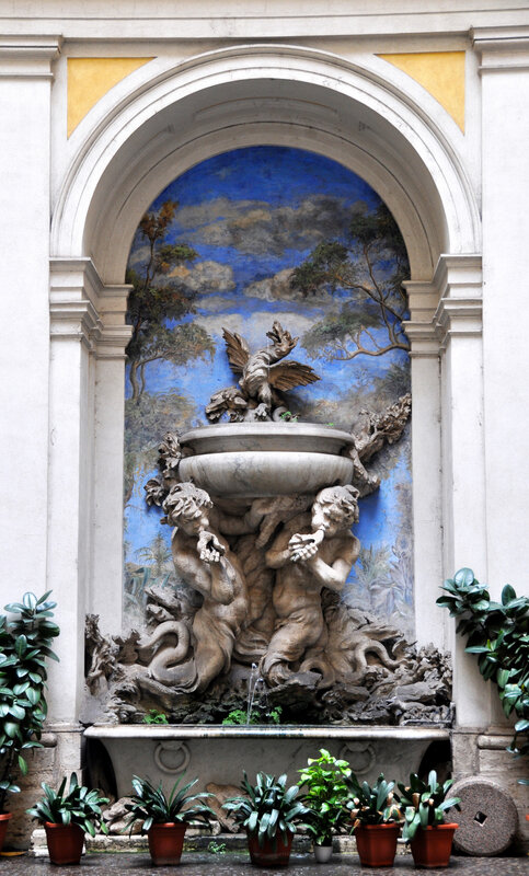 FONTAINE INTERIEURE ROME