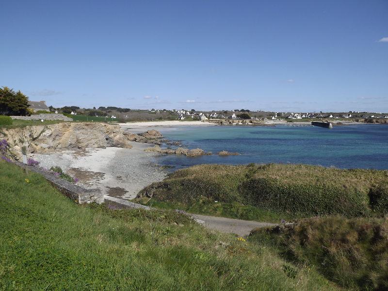 La plage du Loc'h, Plogoff