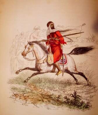 cavaliers rougs d'Abd el-Kader