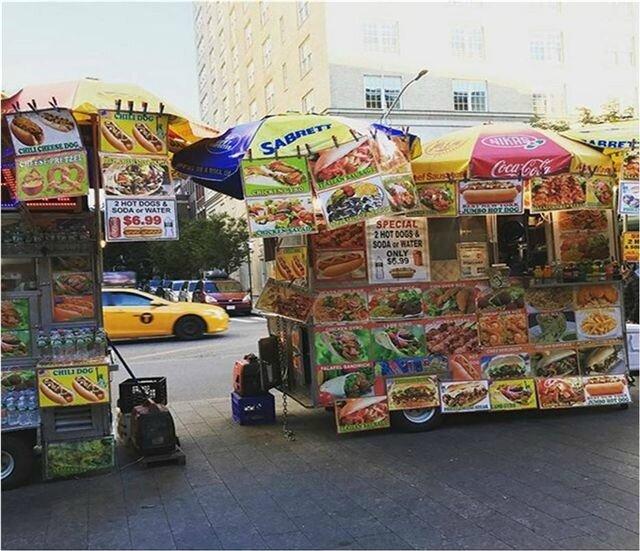 Food carts New Yorkais ©Kid Friendly