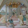Benoît édifie douze monastères