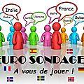 Euro sondage 2021 : vos demi-finales, votez jusqu'au 17 avril !