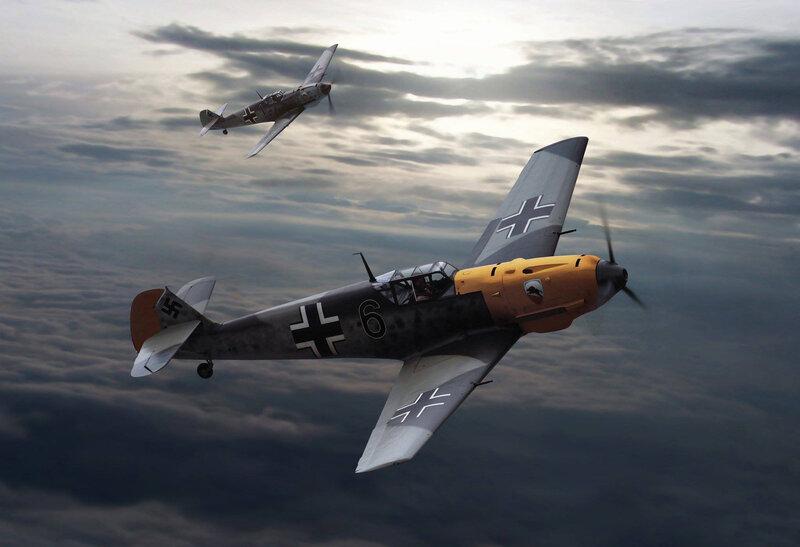 123 Luftwaffe Messerschmitt Bf 109 E-4