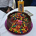 Mon gravity cake ...