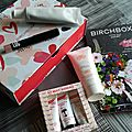 Birchbox la box du mois d'avril