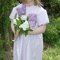 Lilas , rose ou violette