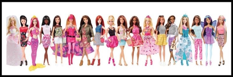 mattel barbie fashionista 1