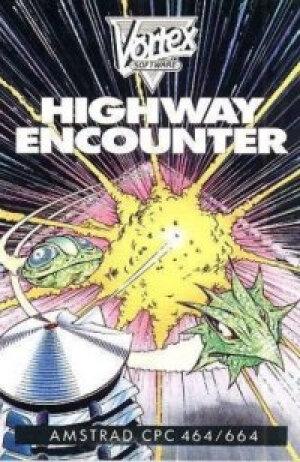 Highway Encounter sur Amstrad CPC
