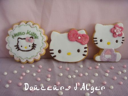 sablés hello kitty