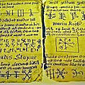 Le cahier mystique du medium voyant maitre marabout djifa