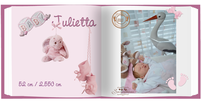 livre little girl Julietta