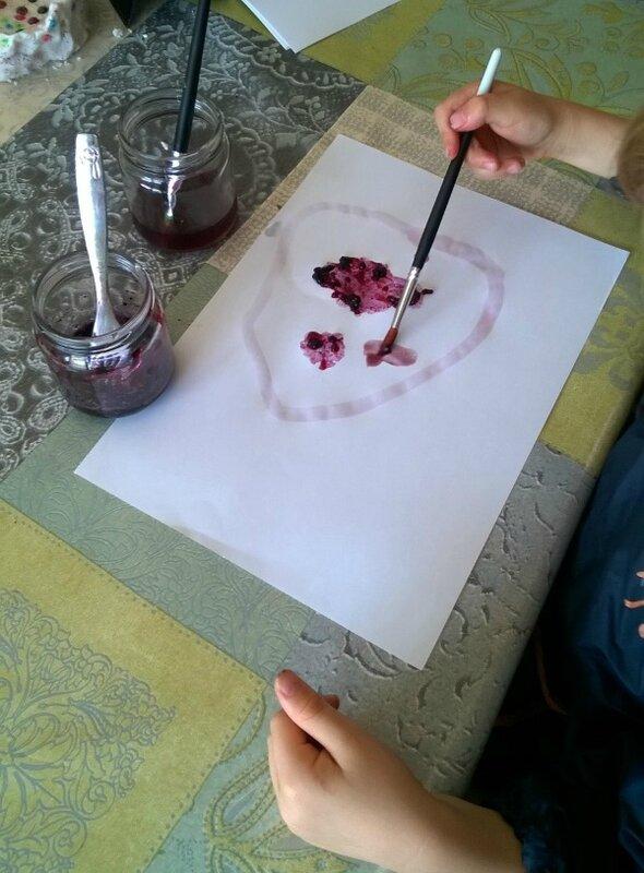 Peinture fruitée 1