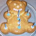 Le gâteau d'anniversaire de ma grande : 8 ans