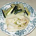Papillotes de filets de daurade au fenouil et lait de coco