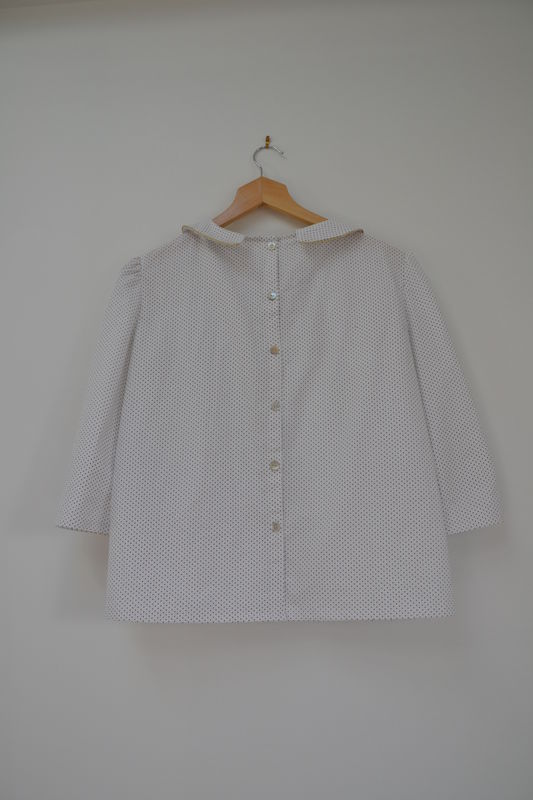blouse col claudine dos