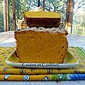 Cake de potimarron ( ou plutôt terrine )à la brousse de brebis ( sans gluten )