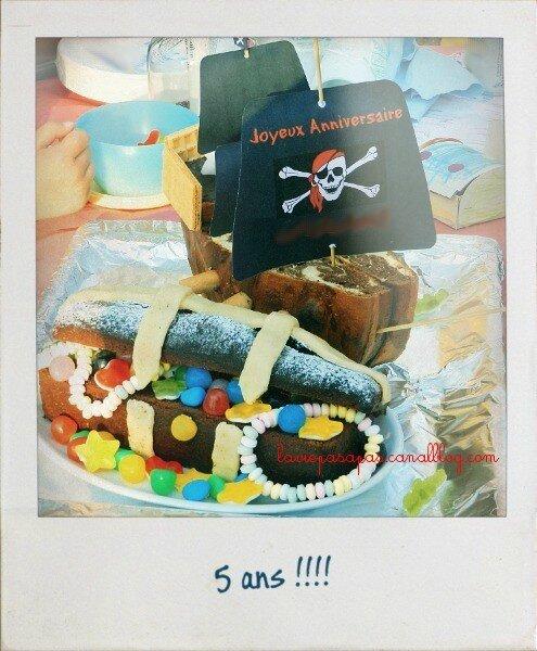 Gâteaux-pirate a