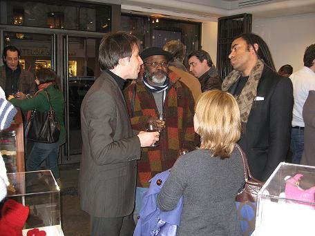 Vernissage de la boutique éphémère de Paris 1