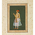 Portrait of prince khurram, later shah jahan, mughal india, circa 1620