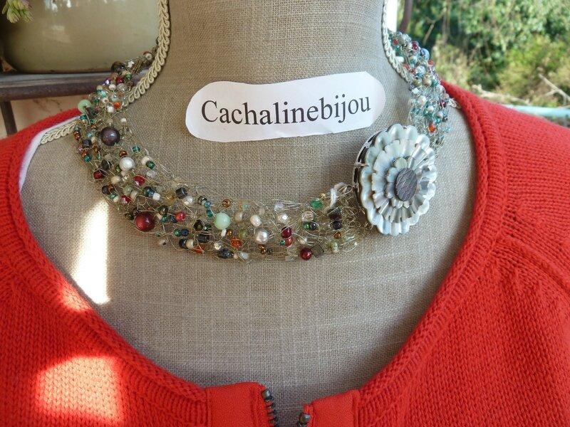 collier crocheté par cachalinebijou