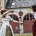 Sourires et rapières des mousquetaires lames sur seine - château de vaux le vicomte