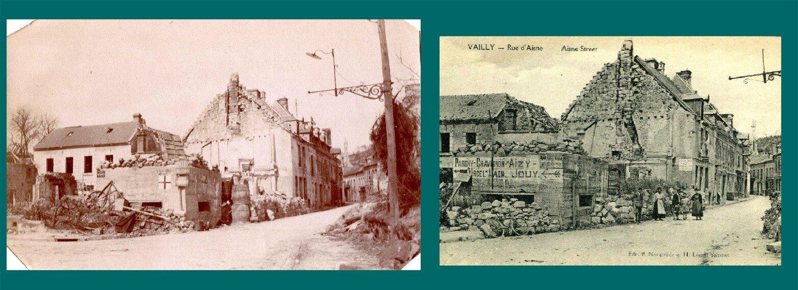 Vailly-sur-Aisne (Aisne), rue d'Aisne