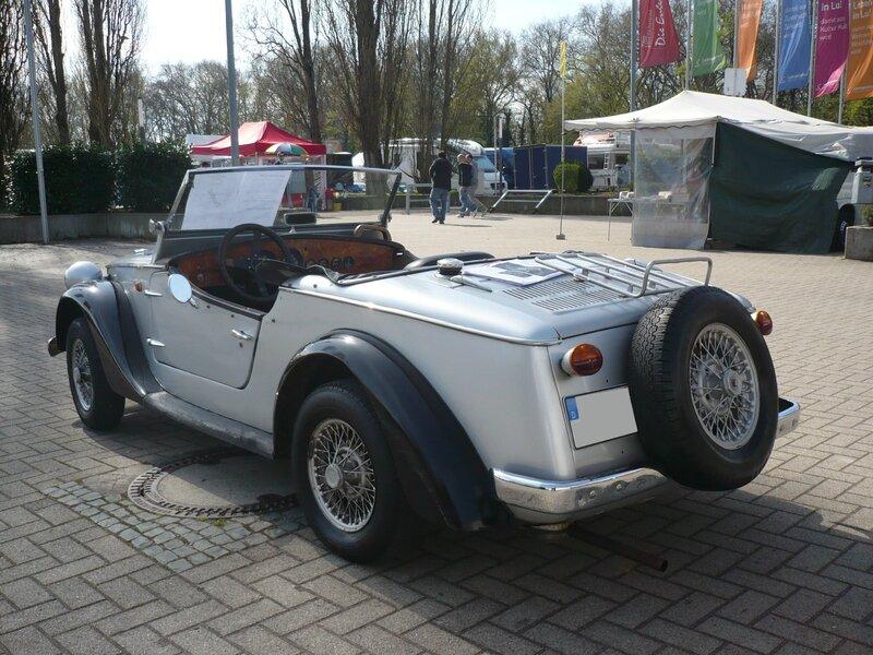 SIATA Spring 850 cabriolet 1968 Ludwigshafen (2)
