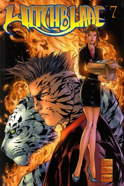 editions USA witchblade 07