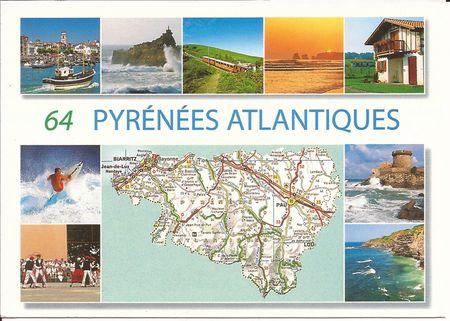64 pyrénées atlantiques''
