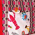 5-Tour de lit FrutApuls' - détail pochette