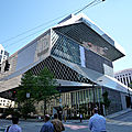 Bibliotheque centrale - seattle - etats-unis