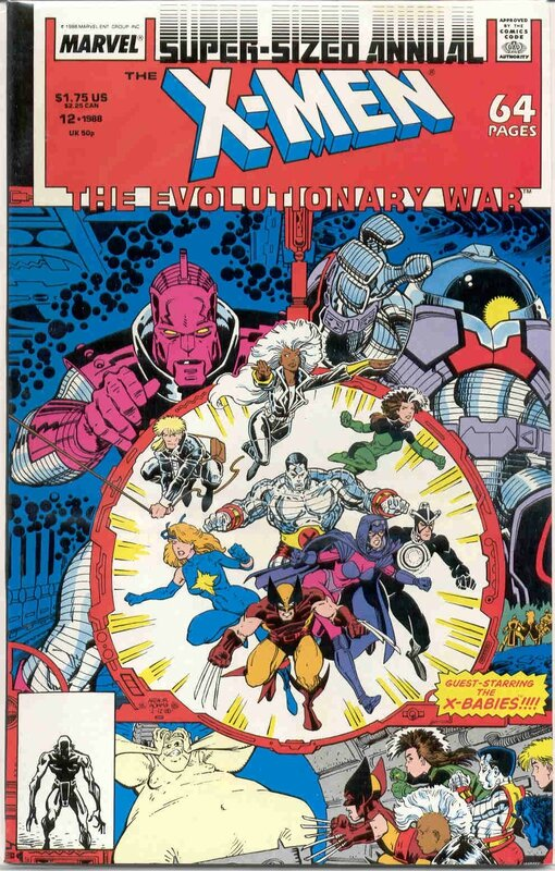 uncanny x-men annual 12 evolutionary war