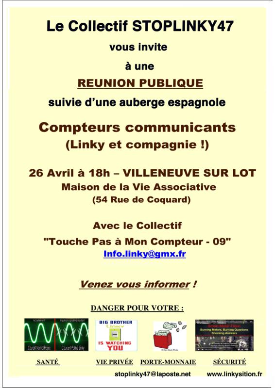 Réunion publik Maud
