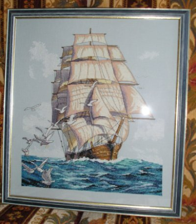 Clipper Ship Voyage