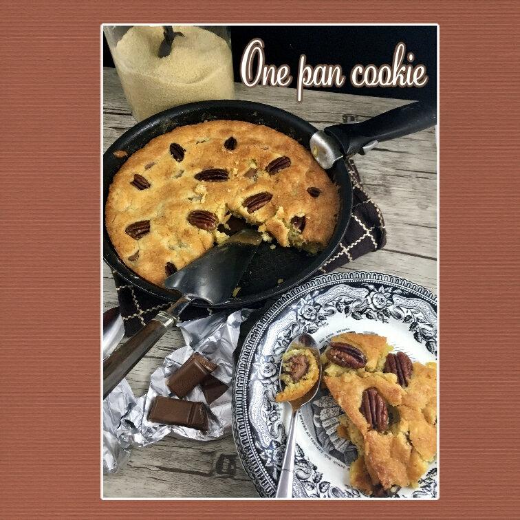 one pan cookie (scrap)