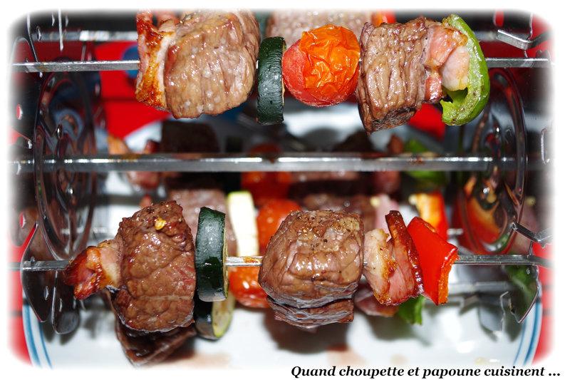 brochettes de boeuf au CookAll-7747