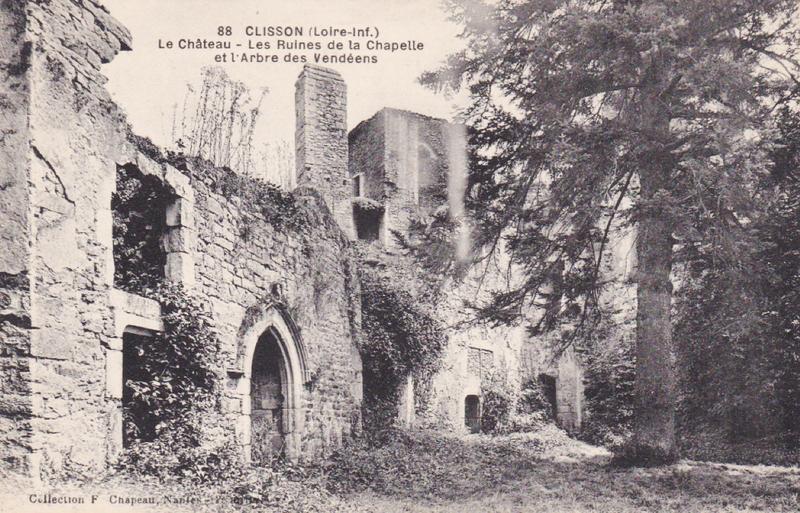CPA Clisson Arbre des Vendéens 1