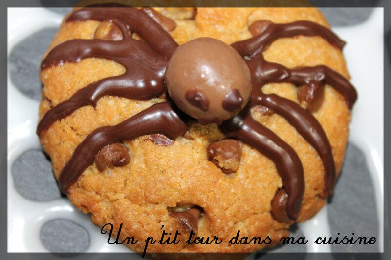Cookies araignées 1