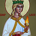 Sainte lucie de syracuse (fête 13 décembre)