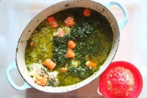 tajine poulet olives 07 ajouter marinade citron LE MIAM MIAM BLOG