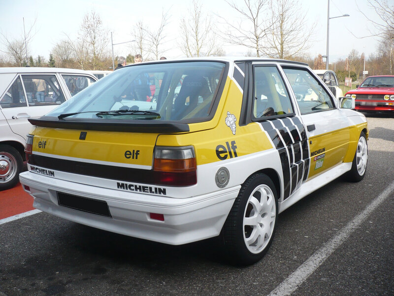 RENAULT 11 turbo berline 3 portes Mulhouse (2)