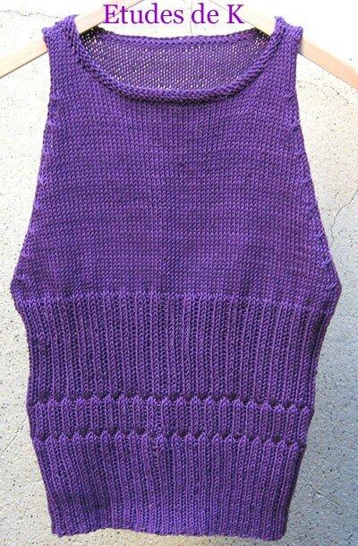 top Monoprix coton d'Egypte