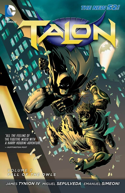 talon vol 2 fall of the owls TP